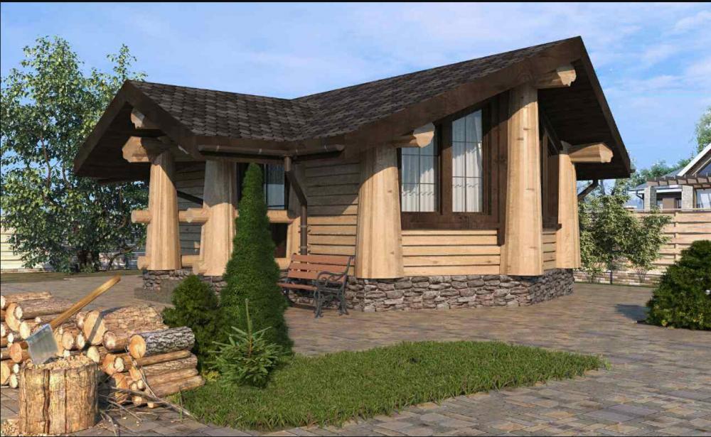 Купить Деревянный домик по новой австрийской технологии