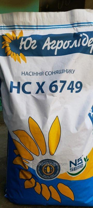 Семена подсолнечника НС Х 6749 Экстра