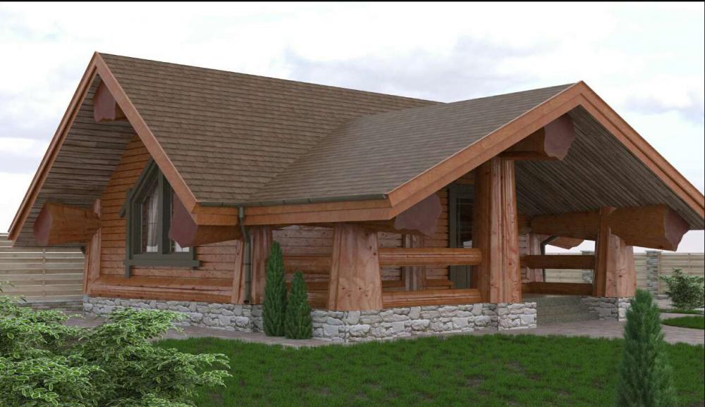 Дом деревянный по новой австрийской технологии