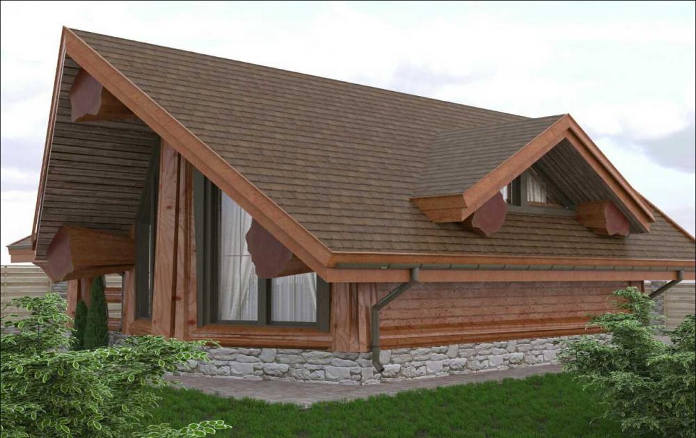 Дом деревянный, австрийская технология