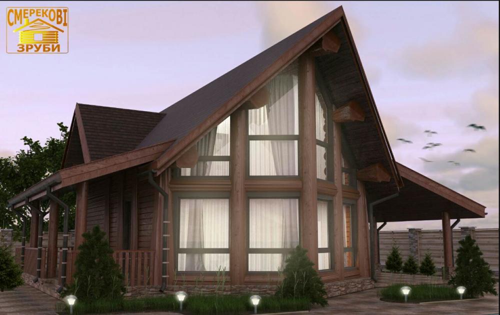 Купить Деревянный домик, новая австрийская технология