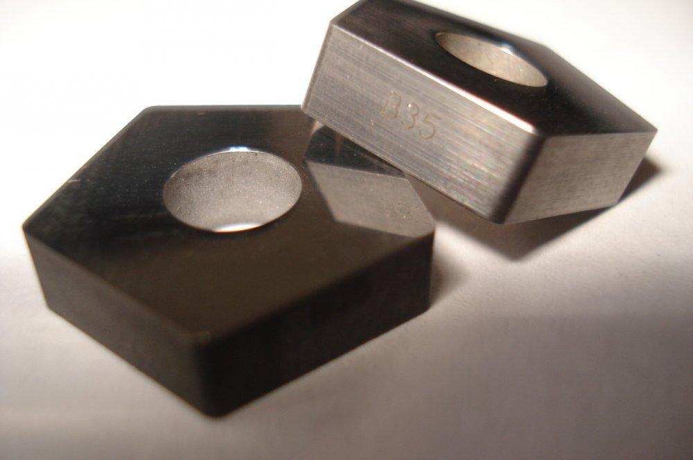 Пластина твердосплавная 110408 ВК8 В35