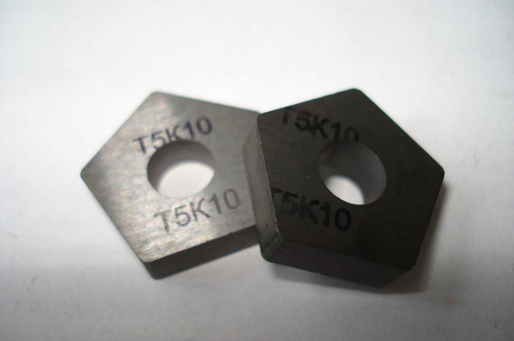 Пластина твердосплавная 110408 Т5К10