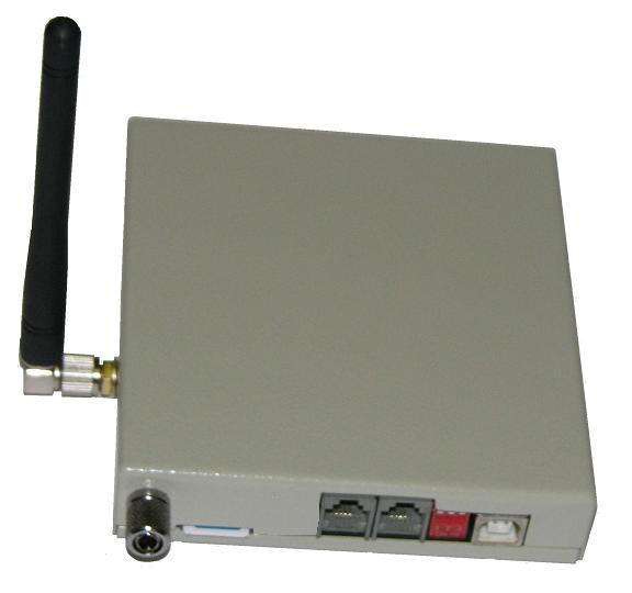 The DTR-08-GSM device for Alarm DTR and CallCenter DTR