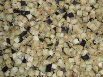 Баклажан кубиками замороженные 2,5кг