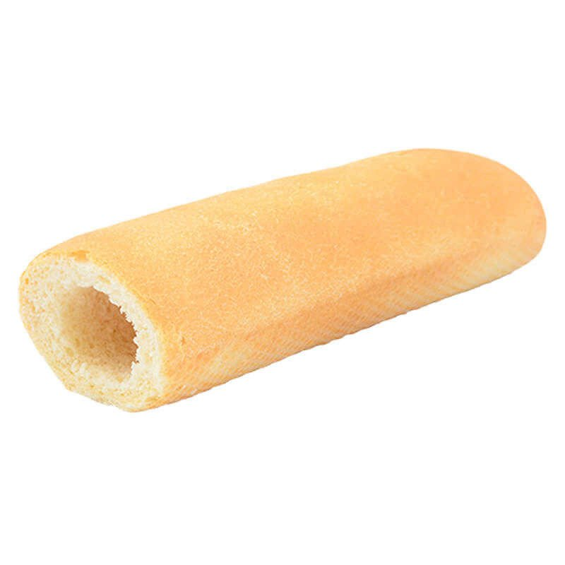 Baguette with an otverstviye for hot dog 60 of of 40 pieces