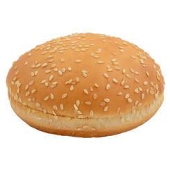 Булочка для гамбургера молочная с кунжутом 60г 40шт.