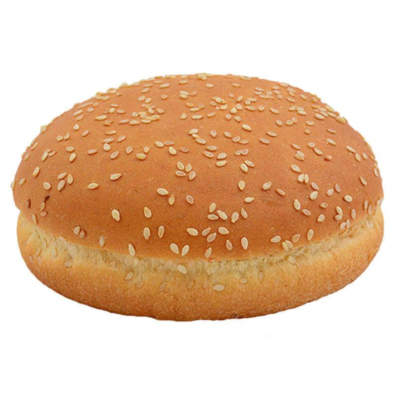 Булочка для гамбургера пшеничная с кунжутом 50г 10см 48шт.