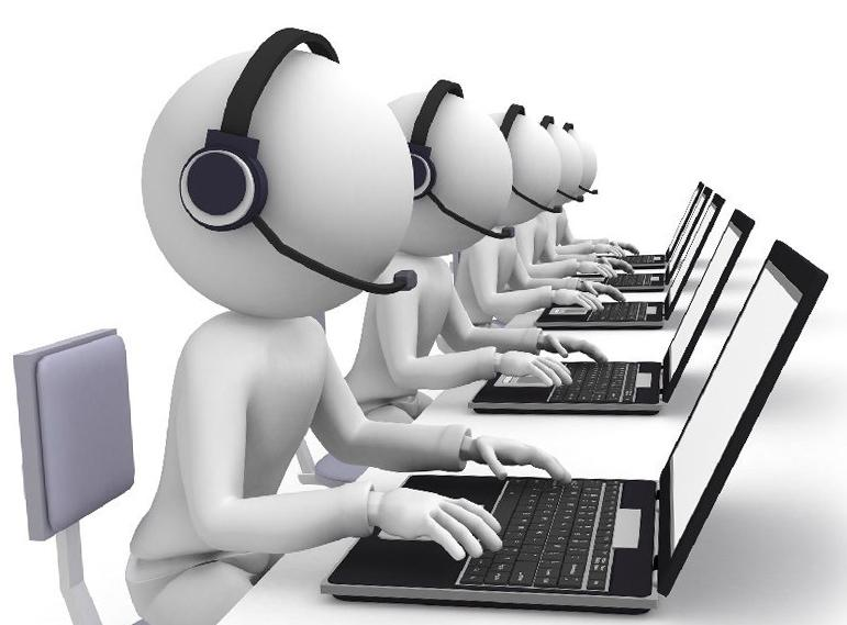 System of informing by CallCenter DTR phone (call-down of debtors)