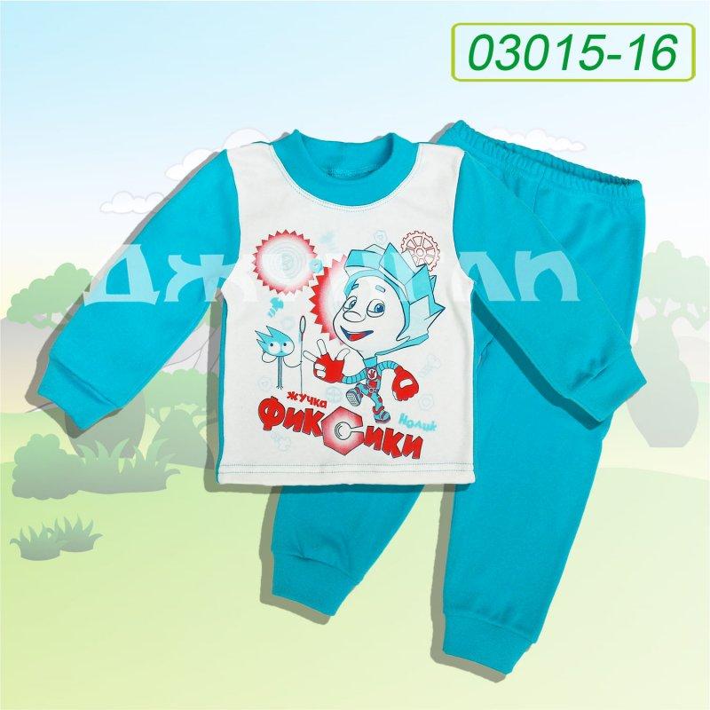 """Купить Пижама """"Фиксики"""", начес 03015-44"""
