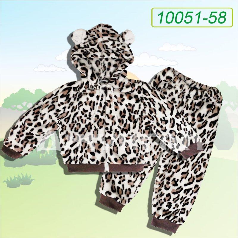 """Купить Костюм с капюшоном """"Леопард Тимми"""", велсофт 10021-58"""