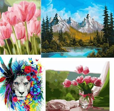 яркие картины раскраски для взрослых в украине