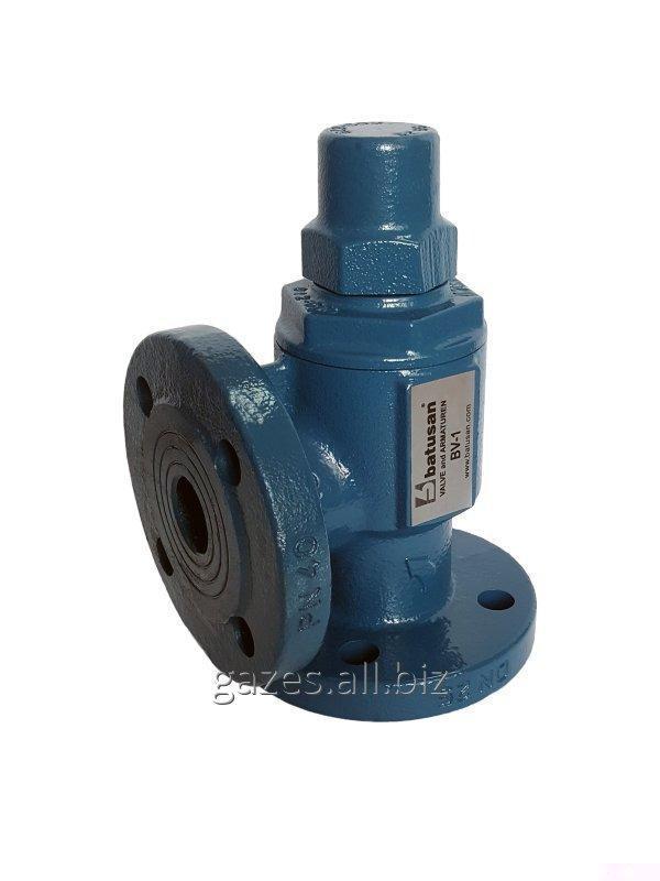 Дифференциальный байпасный клапан bv1 DN25 BATUSAN фланцевый для пропана, СУГ, сжиженного газа