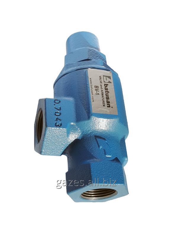 """Дифференциальный байпасный клапан bv1 1"""" npt BATUSAN резьбовой для пропана, СУГ, сжиженного газа"""