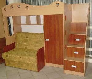 Купить Двухъярусная кровать чердак Каспер 2
