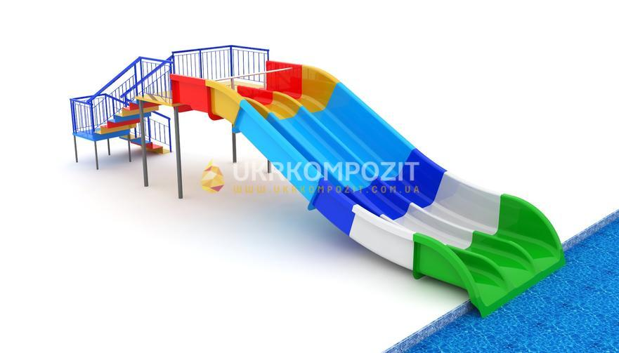 Waterslide of Ukrkompozit Multislayd of MD-S-2