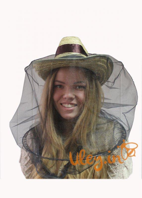 Купить Шляпа-брыль пчеловода с лицевой сеткой