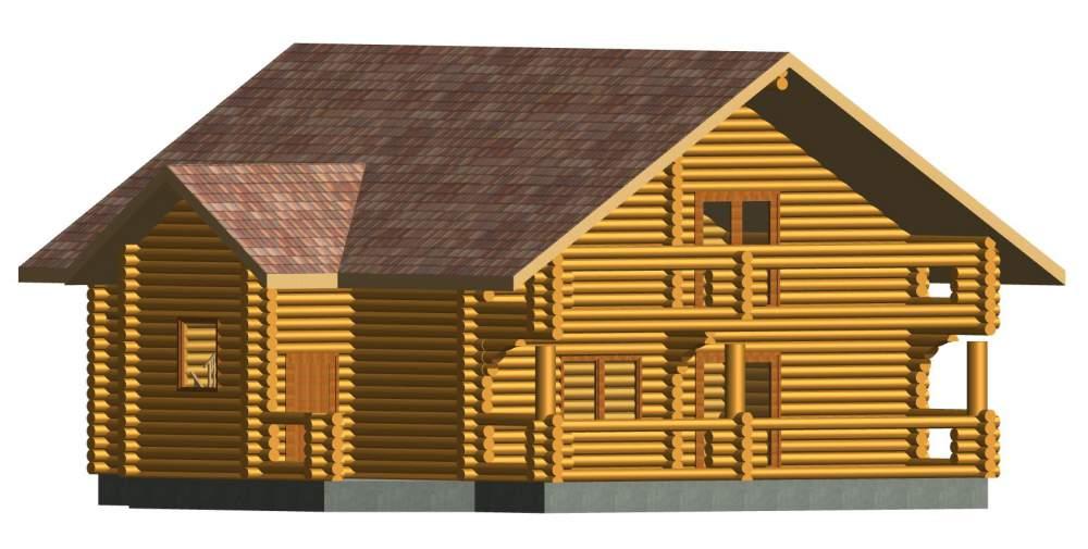 """Дом деревянный """"Классика"""""""