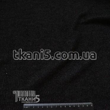 Buy Fabric Mohair strip Lurex (black) 7067
