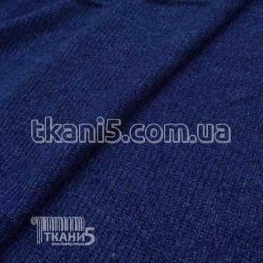 Buy Fabric Mohair strip Lurex (electro-blue) 7071