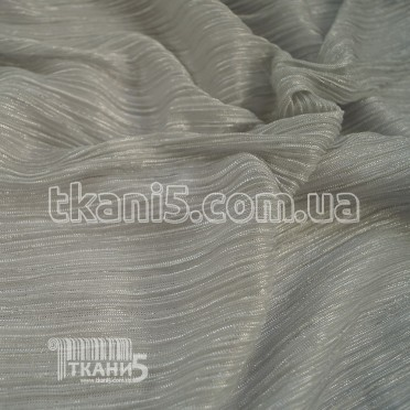 Buy Fabric Pleating Lurex (steel) 7122