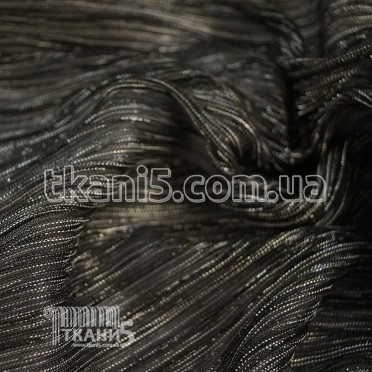 Buy Fabric Pleating Lurex (black) 7119