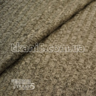 Buy Fabric Jersey Lurex a strip (light gray with gold thread) 7110