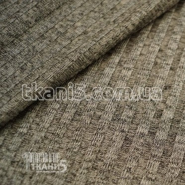 Buy Fabric Jersey Lurex a strip (light gray with silver thread) 7111