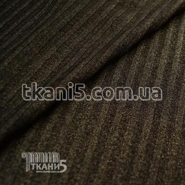 Buy Fabric Jersey Lurex a strip (dark gray with gold thread) 7112