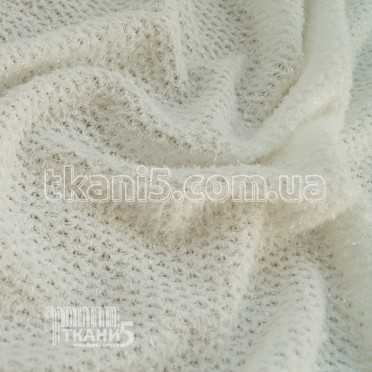 Buy Fabric Jersey Lurex grass (milk) 6792