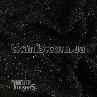 Buy Fabric Jersey Lurex grass (black) 6790