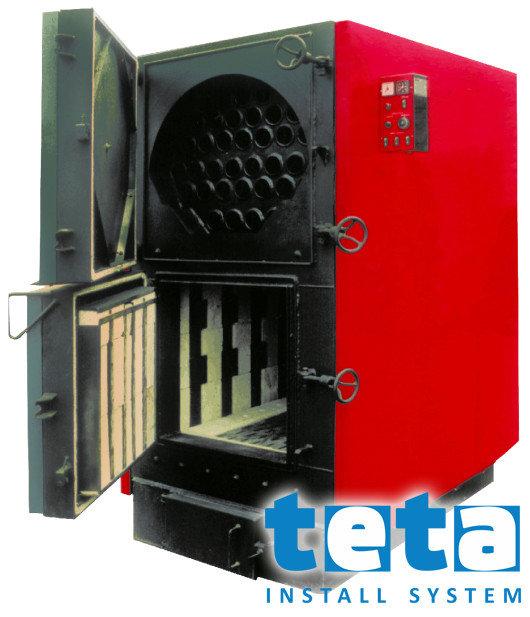Котел твердотопливный KALVIS - 100 кВт, дрова/уголь