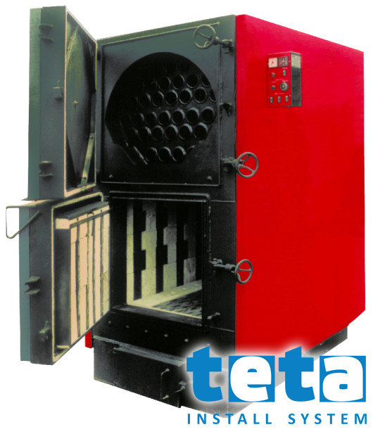 Котел твердотопливный KALVIS - 250 кВт, дрова/уголь
