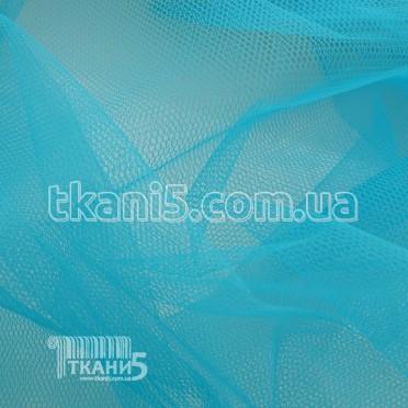 Купить Ткань Фатин жесткий (бирюзовый)