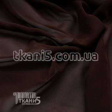 Buy Fabric Chiffon monophonic (Chocolate) 4551