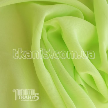 Buy Fabric Chiffon monophonic (lime) 829