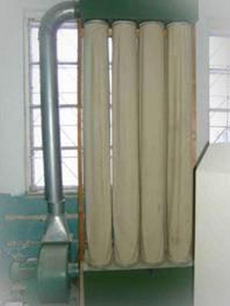 Витяжний пристрій для шліфувального верстата