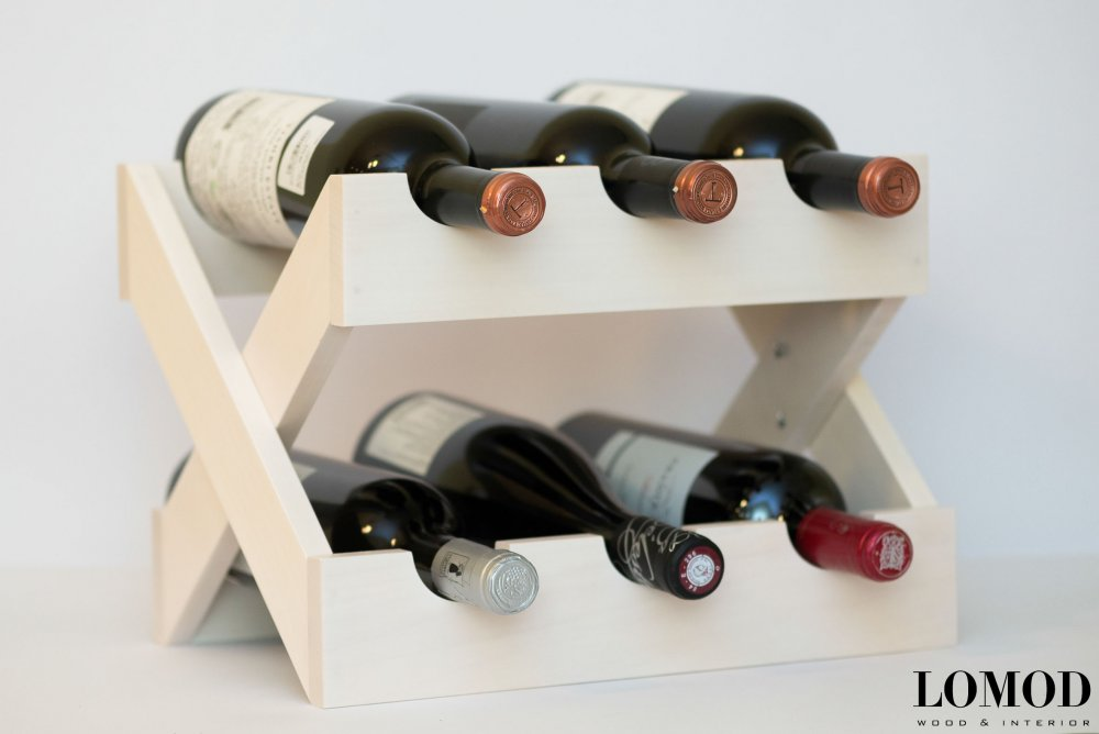 Підставка для вина з дерева, Лікарям. Артикул WA 3_1.
