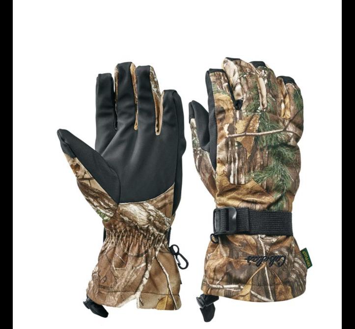 Перчатки охотничьи Cabela's Dry-Plus® Silent Suede™ Gloves