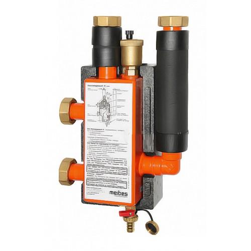 Гидравлическая стрелка Meibes МНK 32 (3 м3 / ч, 85 кВт при ΔТ = 25 ° С), DN 3266391.3