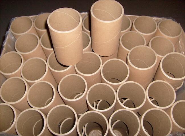 Las cápsulas kartonno-de papel espiral navivki
