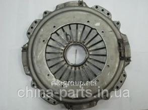 Корзина сцепления HOWO 430 отжимная  лепестковая WG9114160011