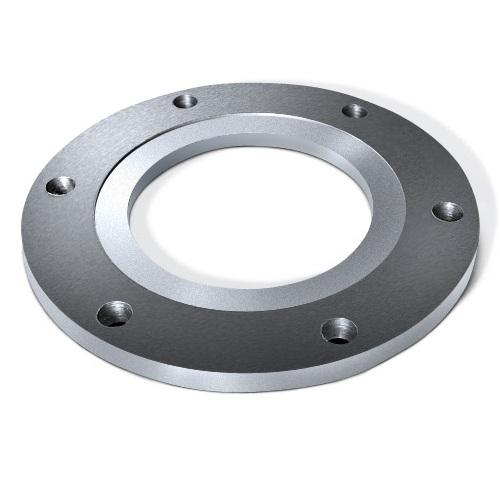 Кованый плоский фланец 2- 150- 25, ГОСТ 12820-80. Диаметр 150 мм, вес 10,50 кг, сталь X12CrNiTi 18-9