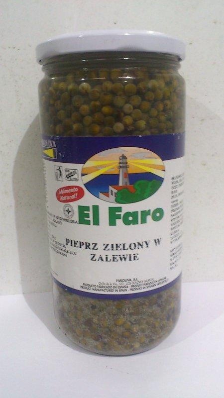 Перец зеленый маринованый 400г