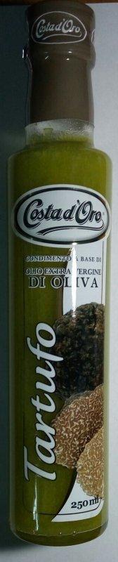 Масло оливковое с ароматом черных трюфелей с/б 0,25 л