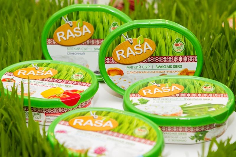 Сыр мягкий сливочный RASA 66% 3 кг