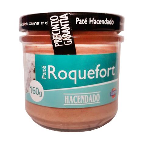 Паштет с сыром Рокфор Pate Hacendado 160г