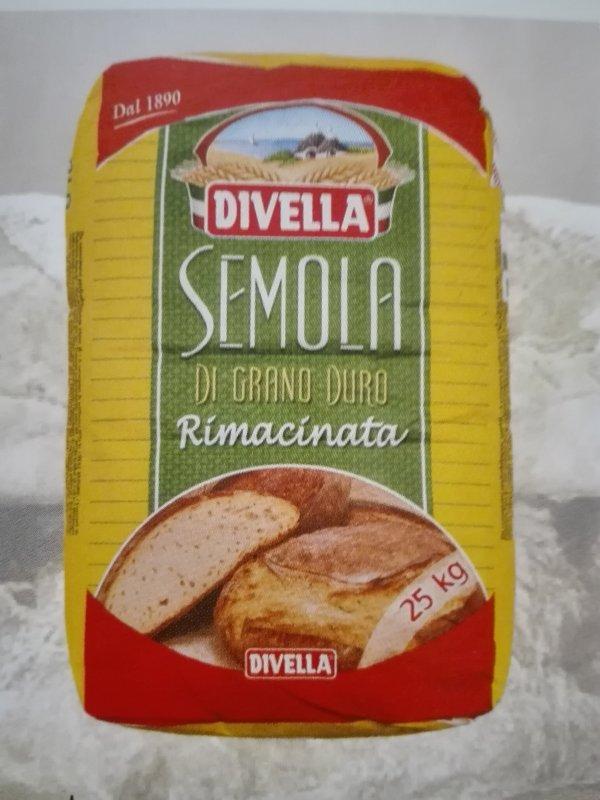 Semol TM DIVELLA 25's flour of kg