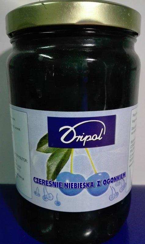 Вишня коктейльная синяя 1/1,9 кг