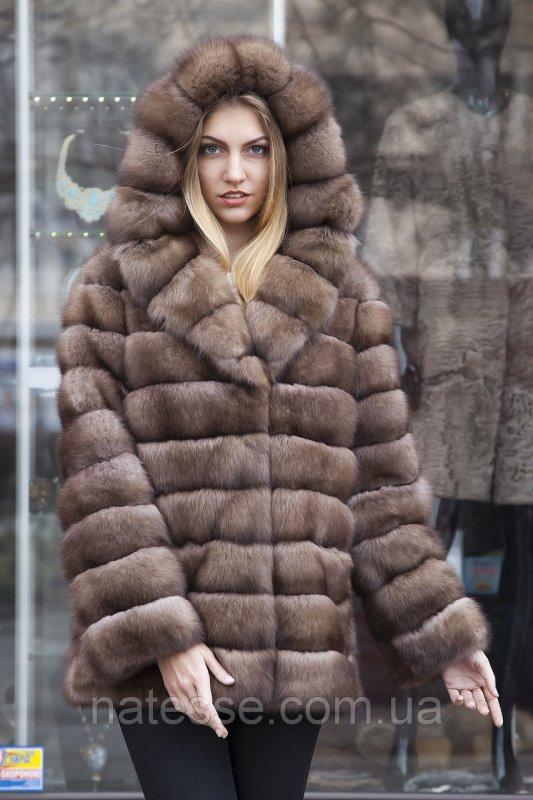 """Шуба из соболя """"Ангелина"""" sable jacket fur coat"""